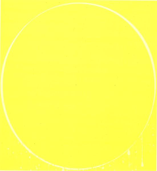 Oval: yellow, lemon yellow, yellow, 2002