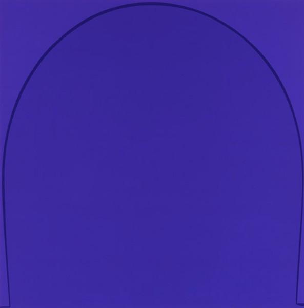 Three Arches: Blue, 2005