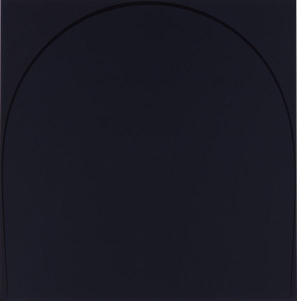 Three Arches: Dark Violet, 2005