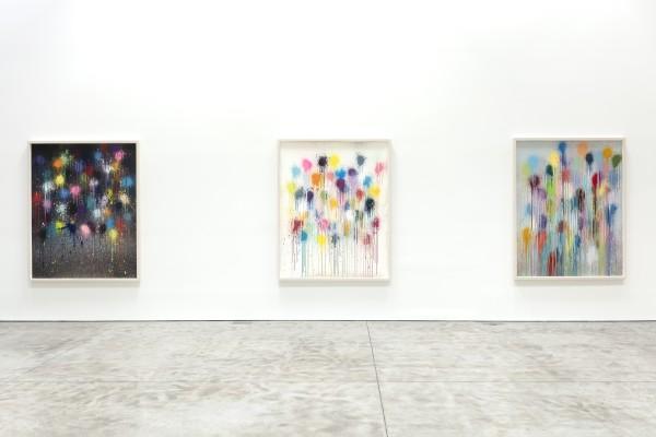 Splats at Kasmin Gallery, New York, November 2020