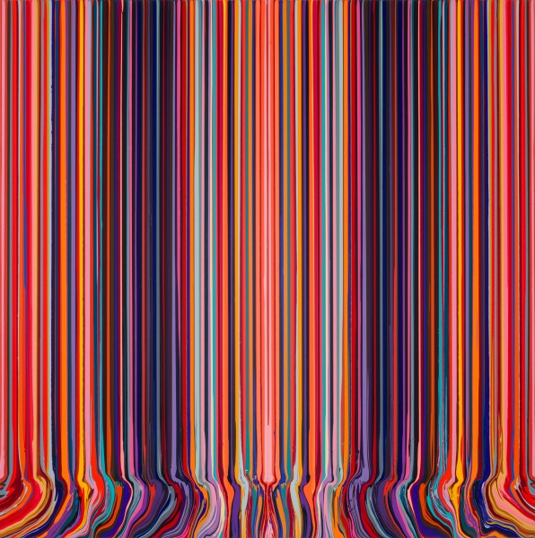 Mirrored Sequence (Red & Black) , 2020