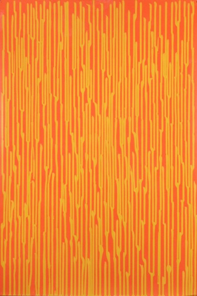 Staggered lines - Tangerine, 2010