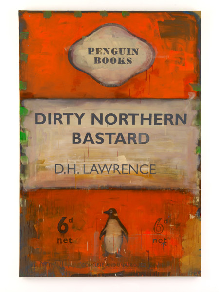 Dirty Northern Bastard 2009 Oil on canvas 300 x 203 cm