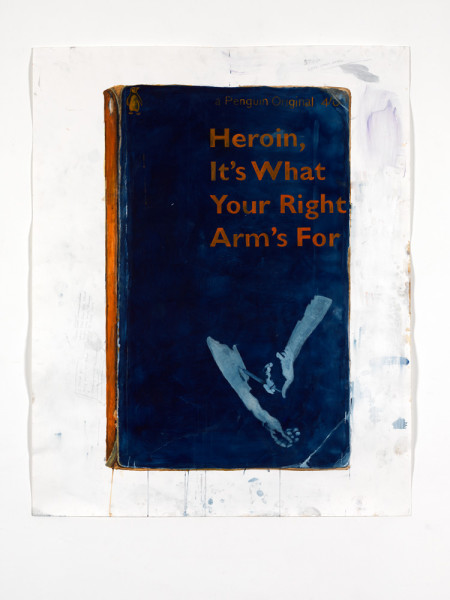 Heroin, It's What Your Right Arm's For 2010 Watercolour on paper 151.5 x 122 cm paper size 165.5 x 135 cm framed