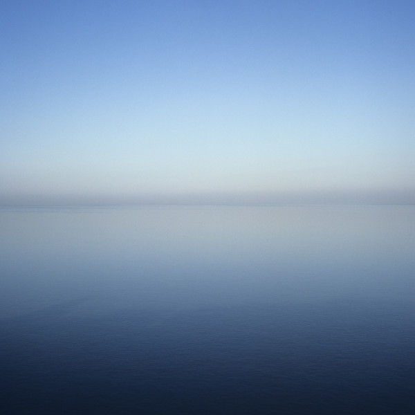 Sections of England: The Sea Horizon (No. 17) 1976-7, Series two, printed 2013 Lambda C-type print edition of 5 49.5 x 49.5 cm framed size