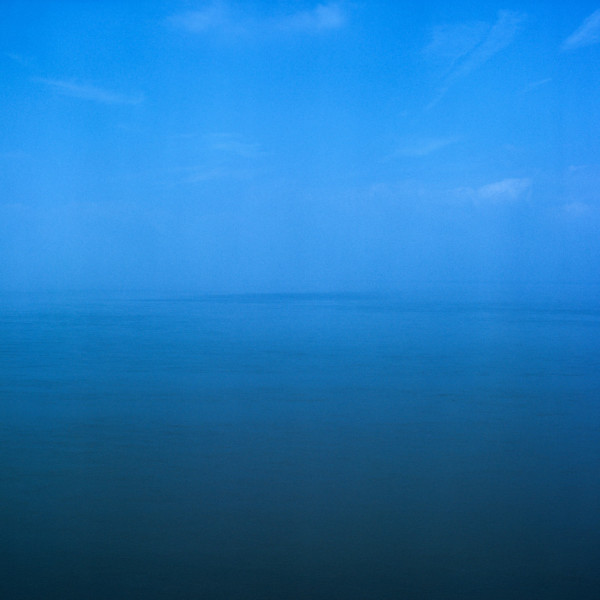 Sections of England: The Sea Horizon (No. 32) 1976-7, Series two, printed 2013 Lambda C-type print edition of 5 49.5 x 49.5 cm framed size