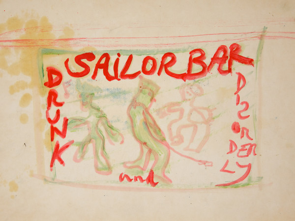 Peter Doig Sailor Bar, 2013 10ft x 13.5ft billboard installation