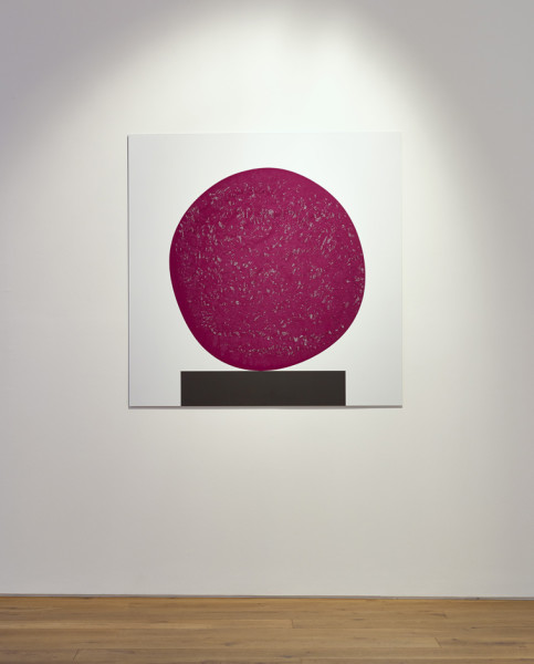 David Batchelor Colour Chart 46, 02.02.12 gloss and matt paint on aluminium 122.5 x 122 cm