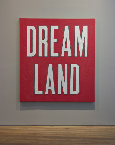 David Austen Dream Land, 2007 oil on flax canvas 168 x 152.5 cm