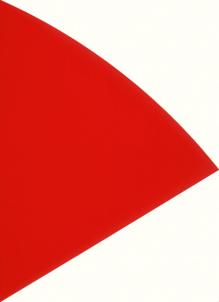 Red Curve 1993-95, lithograph on Arches 88 paper edition of 130, this edition 130/130 64.1 x 48.9 cm (framed size) Provenance: from the collection of Ellsworth Kelly