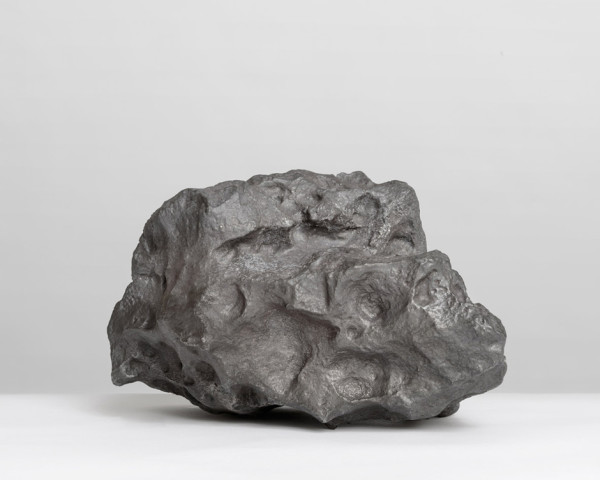 Campo del Cielo, Field of the Sky (24,800g) 2014 found meteorite, cast melted and re-cast back into a new version of itself 26.6 x 21.6 x 17.8 cm