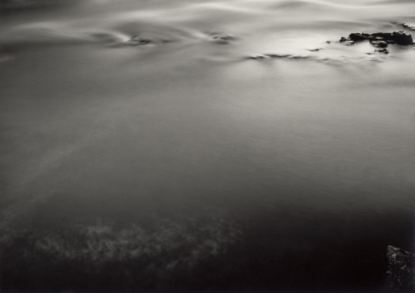 Evening -The River Dee Portarch, Banchory, Kincardineshire, Scotland, 1997/2014 silver gelatin print, hand toned and printed by the artist, edition of 4 43 x 60 cm (print size) 77 x 97.5 cm (framed size)