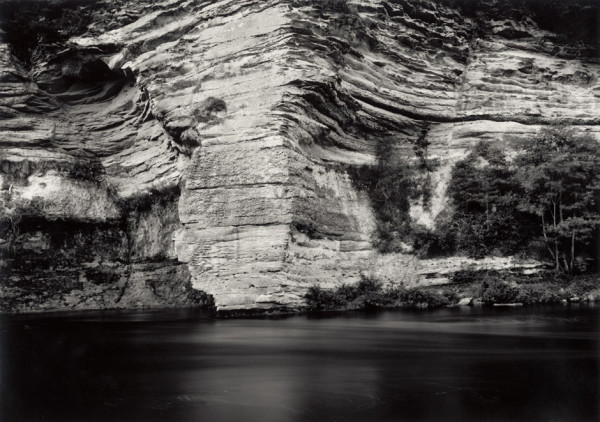 High noon - early Autumn Message to Timothy H. O' Sullivan The River Findhorn, The Findhorn Gorge, Morayshire, Scotland, 1997/2014 silver gelatin print, hand toned and printed by the artist, edition of 4 43 x 60 cm (print size) 77 x 97.5 cm (framed size)