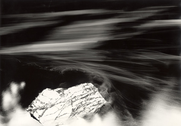 Diamond Rock - The River Findhorn The Findhorn Gorge, Morayshire, Scotland, 1997/2014 silver gelatin print, hand toned and printed by the artist, edition of 4 70 x 100 cm (print size) 108 x 145 cm (framed size)
