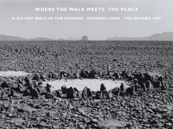 Richard Long Where the Walk Meets the Place, 2014 archival inkjet print, edition of 50 25.4 x 33.9 cm (image size); 38.2 x 45.8 cm (paper size)