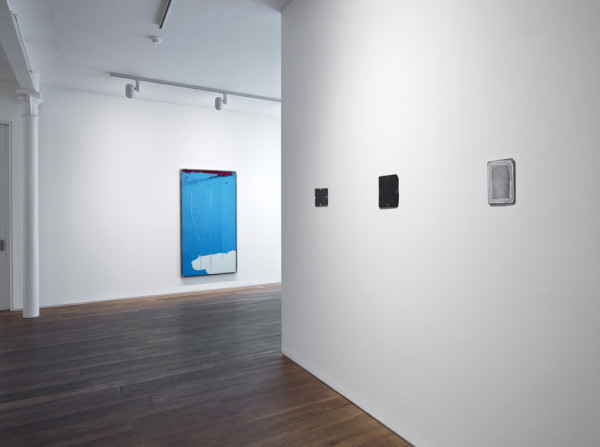 Installation view of the group exhibition ABJAD Ground Floor, Ingleby Gallery, Edinburgh (January - March 2015)