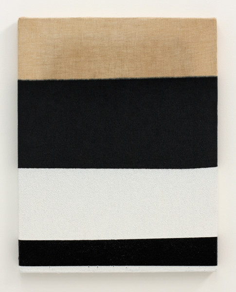 Jeff McMillan Offside Painting (No 4), 2013 gloss paint on linen 46 x 36 cm