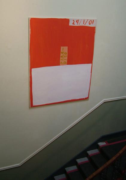 Paradiso 2002 acrylic on canvas 162cm x 127 cm