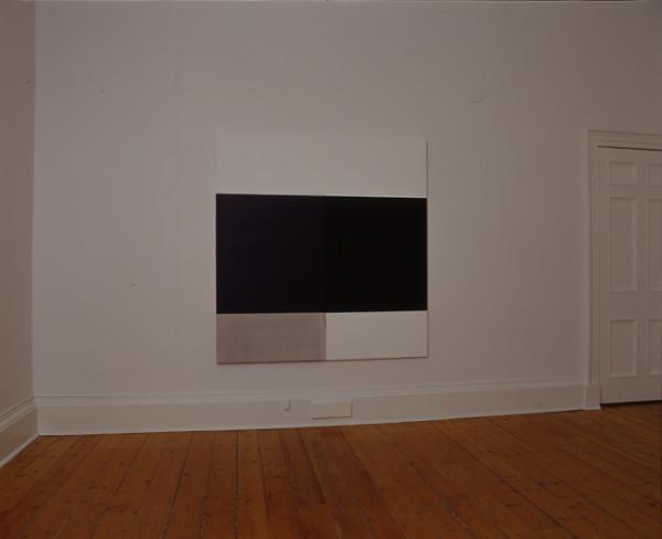 Exposed Painting Vine Black on Violet 2004 oil on canvas 174.5cm x 167.5 cm