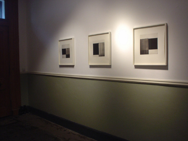 I, II, III 2004 photopolymer intaglio etchings with chine colleé printed in editions of 30 48cm x 44cm [paper size]