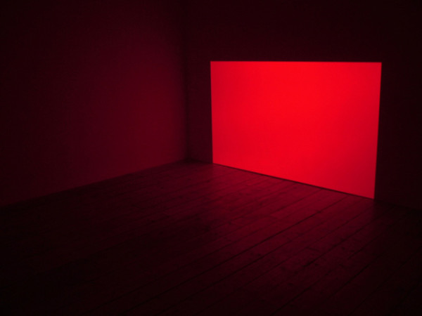 James Turrell Prado Red 1967 light projection