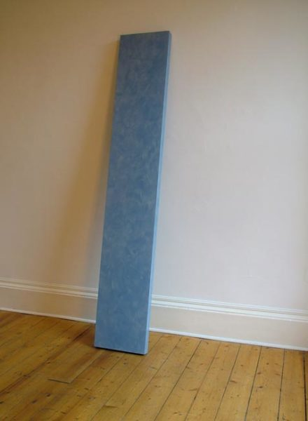 Light 2001 lacquer, resin, fibreglass, plywood, blue pearl metallic 231 x 36 x 6.5cm