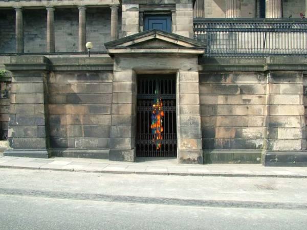Candela V installed at Old Royal High School, Edinburgh, August 2006