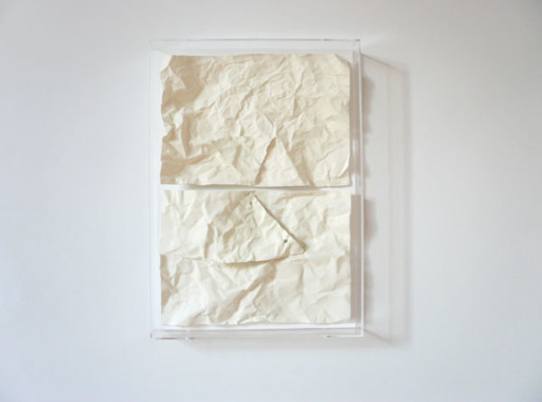 Love: Horizon 2007 resin and paint, painted mdf, acyrlic case 31 x 43.5 x 5 cm | Please contact the gallery for more information