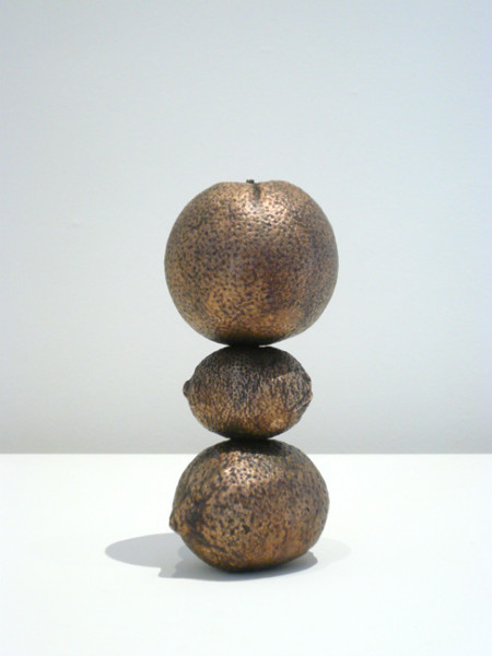 Signals (Detail) 2007 Bronze, 3 pieces 18.5 x 8 x 8 cms | Please contact the gallery for further information