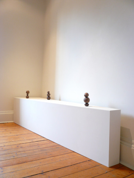 Signals 2007 Bronze, 3 pieces, edtion of 6 18.5 x 8 x 8 cms each | Please contact the gallery for further information
