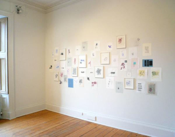 Installation at Ingleby Gallery, December 2007