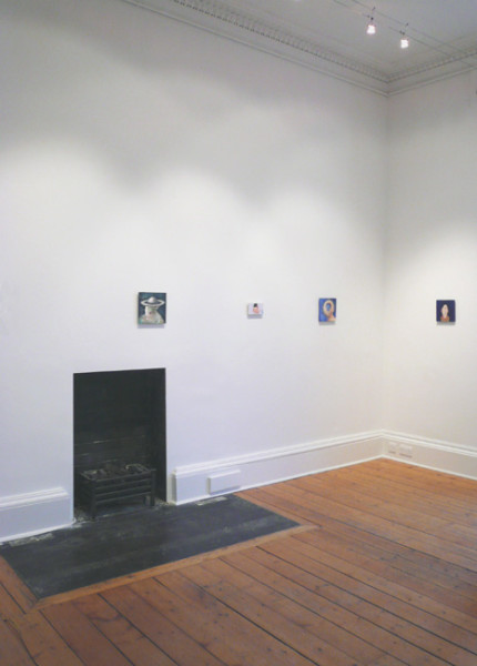 Installation at Ingleby Gallery, January 2008