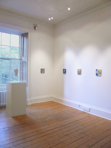 Installation view - Brian Catling & the head of