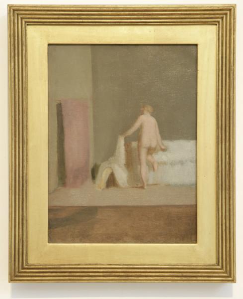 La Femme de Candaules 1855-56 oil on canvas 29 x 22 cm