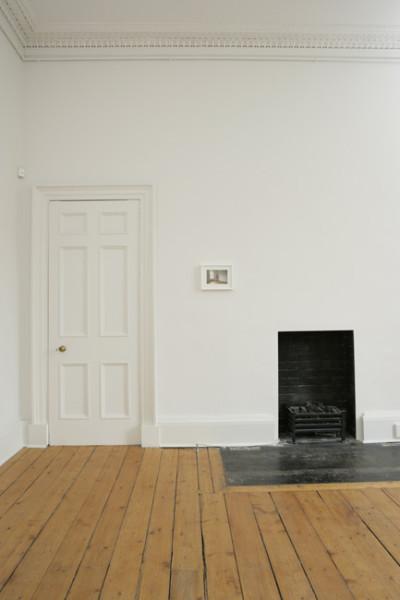 Ingleby Gallery with Daniel Buren - Installation view 2008 tempera on paper 10.5 x 16.5 cm
