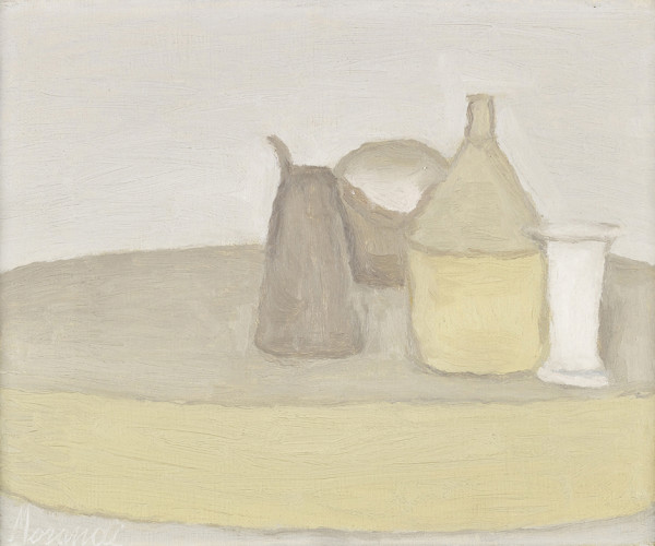 Giorgio Morandi Natura Morta, 1948 oil on canvas 55 x 48 cm (framed) private collection