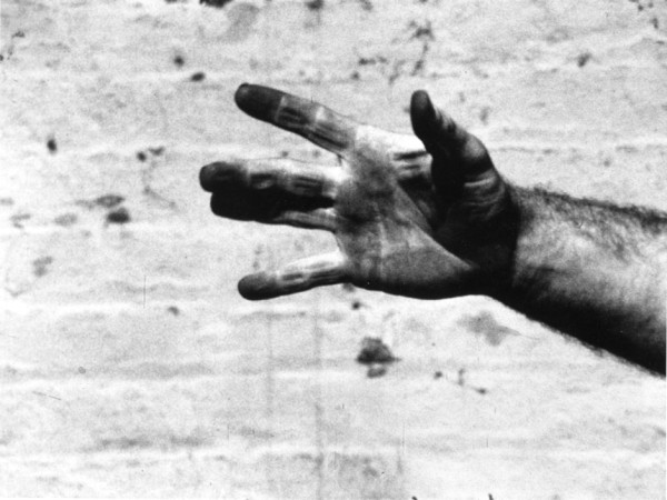 Richard Serra Still from Hand Catching Lead, 1968