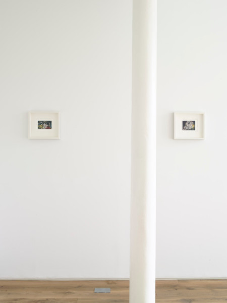 Installation view at Ingleby Gallery, October 2008