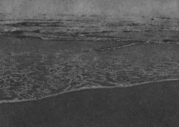 Untitled 54 (Seascape) 2008 pencil on card 12.7 x 17.8 cm image size