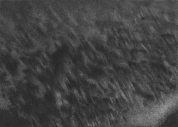 Untitled 55 (Seascape) 2008 pencil on card 12.7 x 17.8 cm image size