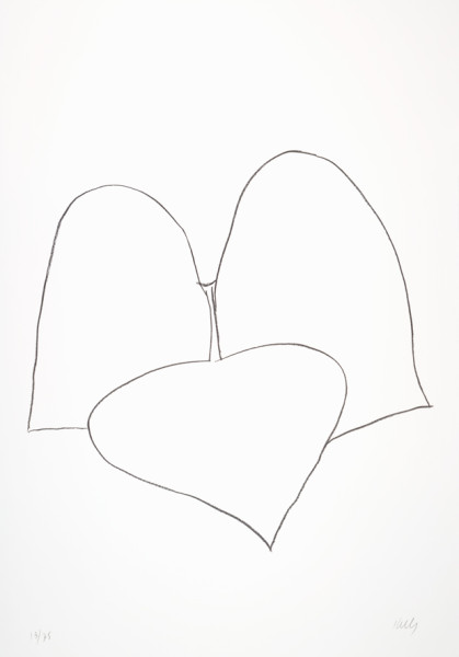 String Bean Leaves III (Haricot Vert III) 1965-66 Lithograph on Rives BFK paper | Edition of 75 90.5 x 62.2 cm paper size