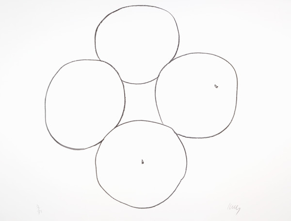 Oranges 1965-66 Lithograph on Rives BFK paper | Edition of 75 61.9 x 82.2 cm