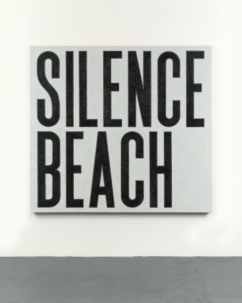 David Austen Silence Beach, 2016 Oil on canvas 168 x 183 x 6 cm