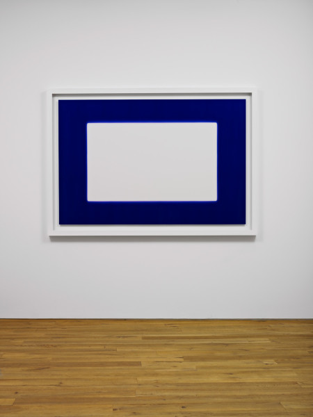 White in Blue. Late Winter 2009 light, water, Lamda Print 143.5 x 204 cm framed | edition of 3