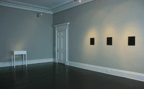 Installation view of and per se and: part V Laurence Sterne & Ben Cauchi Ingleby, Edinburgh (3 - 13 May 2017)