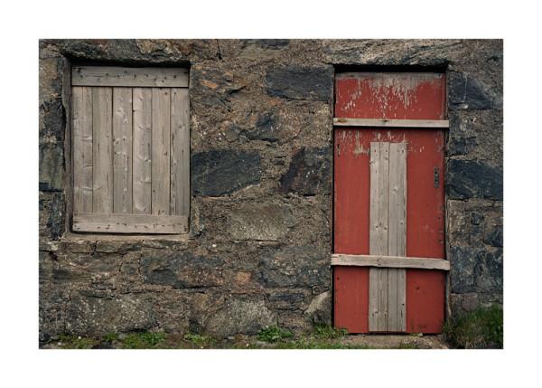 Harris Lewis Red Door Isles of Harris and Lewis, Scotland 1990 / 2010 digital chromogenic print edition of 8 121.9 x 172.7