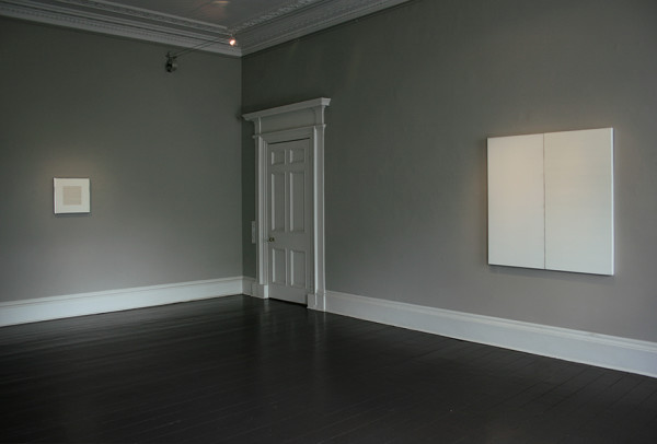 Installation view of and per se and: part IX Callum Innes & Agnes Martin Ingleby, Edinburgh (28 June - 8 July 2017)
