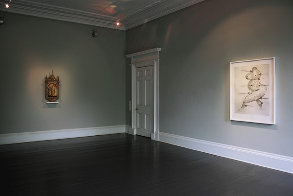 Installation view of and per se and: Part XIV - Saint Sebastian & Louise Bourgeois Ingleby, Edinburgh ( 6 - 16 September 2017)