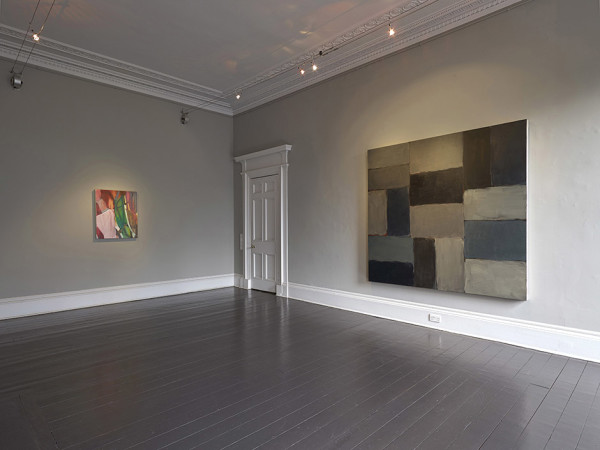 Installation view of and per se and: part XXI - Sean Scully & Liliane Tomasko Ingleby, Edinburgh (31 January - 10 February 2018)