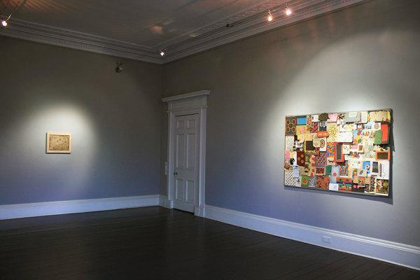 Installation View of and per se and - part XXIV: Floral Arabesque & Alexander Gorlizki 14 - 24 March 2018